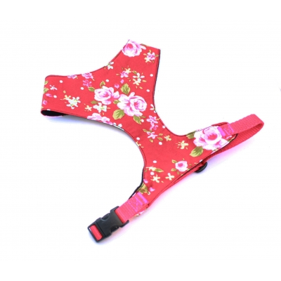Red Vintage Fabric Harness