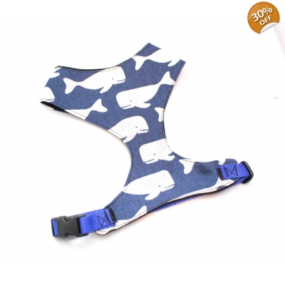 Blue Whale Fabric Harness
