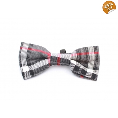 Highland Plaid Dog Bow Tie