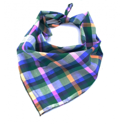 Rainforest Plaid Bandana