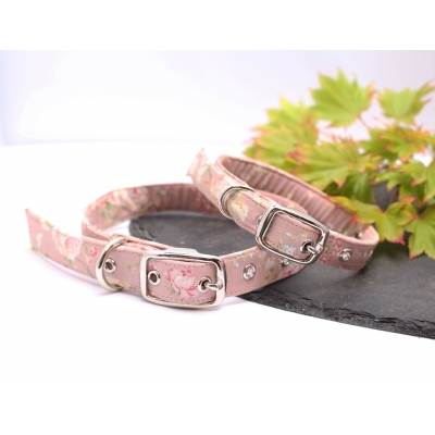 Meadow Rose Buckle Collar
