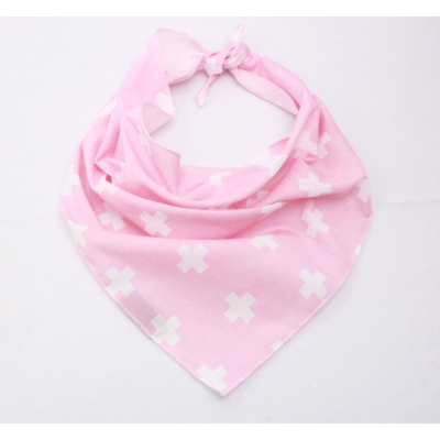 Rose Pink Cross Bandana