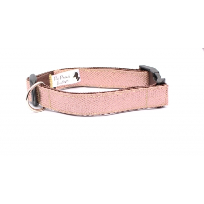 Rose Gold Herringbone Collar