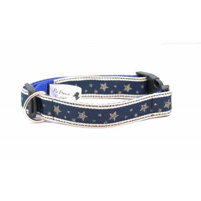 Navy Winter Wonderland Collar