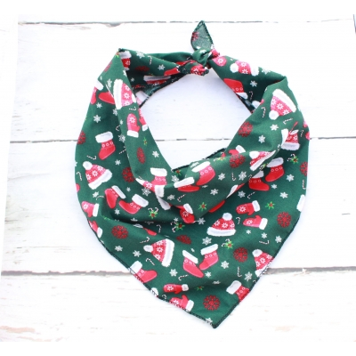 Winter Warmers Christmas Bandana