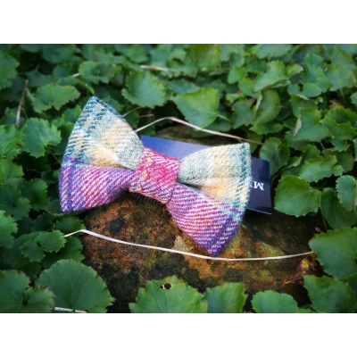 Spectrum Luxury Tweed Bow Tie 1