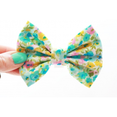 Watercolour Handmade Dog Bow Tie