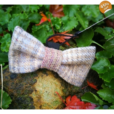 Wild Meadow Luxury Tweed Bow Tie