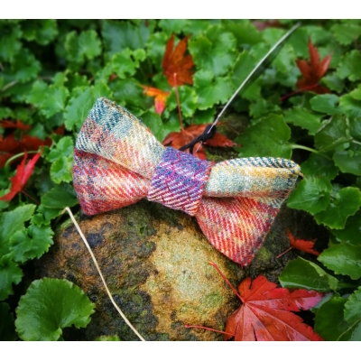 Spectrum Luxury Tweed Bow Tie 4