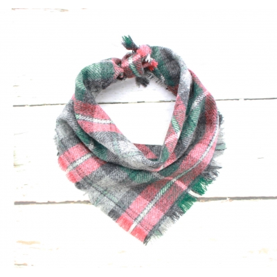 Frayed Gamekeeper Tweed Bandana - Scamps