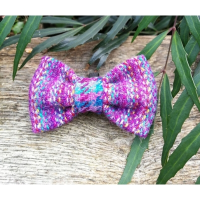 Purple Pepper Tweed Bow Tie - Hairy Scotsman