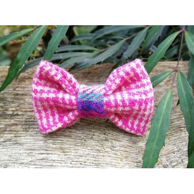 Clotted Cream Tweed Bow Tie - Hairy Scotsman