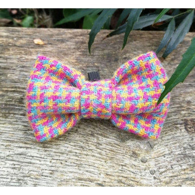 Speckled Hen Tweed Bow Tie - Hairy Scotsman