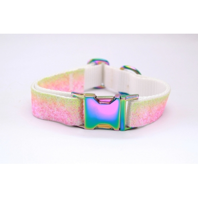 Unicorn Collar with Oil Slick Fittings
