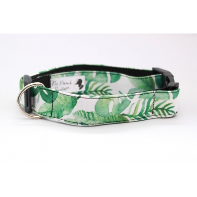 Tropical Palm Leaves Collar