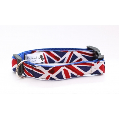 Union Jack Collar / Optional Hardware