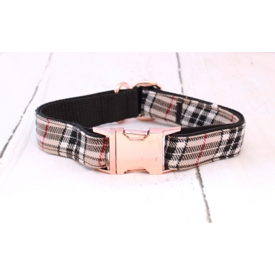 Barkberry Plaid On Rose Gold Collar