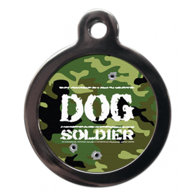 Dog Soldier Dog Tag
