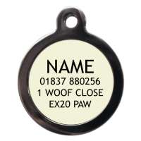 Bite Me Dog Tag