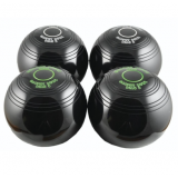 Biased Indoor Carpet Bowls - Black Gre..