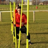 Central Telescopic Training Pole Set