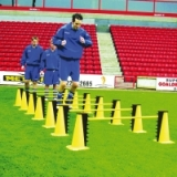 Cone and Hurdle Jump Trainer