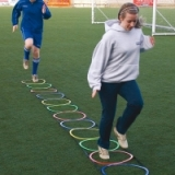 Hooped Agility Ladder