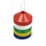 30 Marker Saucers Assorted Colours - N..