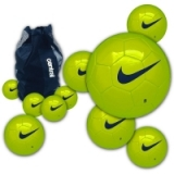 Nike Team Training Football Deal Lime ..