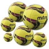 Mitre Cyclone Indoor Footballs - Pack ..