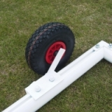 Aluminium Training Goal Flipover wheels
