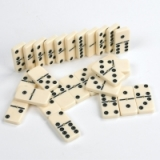 Dominoes and Draughts Games Sets