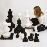 Giant Chess and Draughts