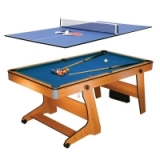BCE 6ft Folding Pool/Table Tennis Table