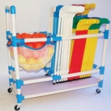 Hockey Stick and Accessory Trolley