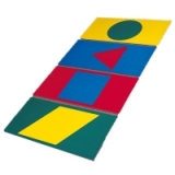Colour and Shape Mats - SET OF 4