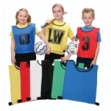 Nylon Training Bibs Sets Netball - Med..