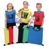 Netball Training Bibs - Polyester Drill