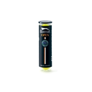 Slazenger Open Tennis Balls - Tube of 4