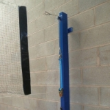 Wall Mounted Volleyball Supports