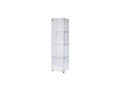 Economy Framless Display Cabinets - Tall Narrow