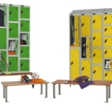 Lockers - Bench Fronts and Stands - Ru..