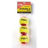 Dunlop Stage 3 Red Tennis Balls