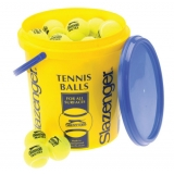 SLAZENGER PRACTICE BUCKET YELLOW