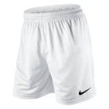 Nike PARK KNIT SHORTS in White/Black