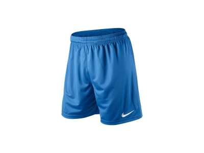 Nike PARK KNIT SHORTS in University Blue/White
