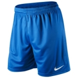 Nike PARK KNIT SHORTS in Royal Blue/Wh..