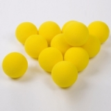 Central Vinyl Mini Tennis Balls - Pack..