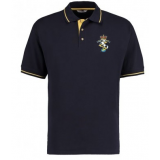 Reme Hockey Mens Contrast Polo - Navy/..