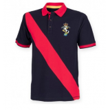 Reme Hockey Mens Diagonal Stripe Polo ..
